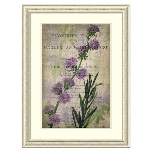''Favorite Flowers I'' Framed Wall Art