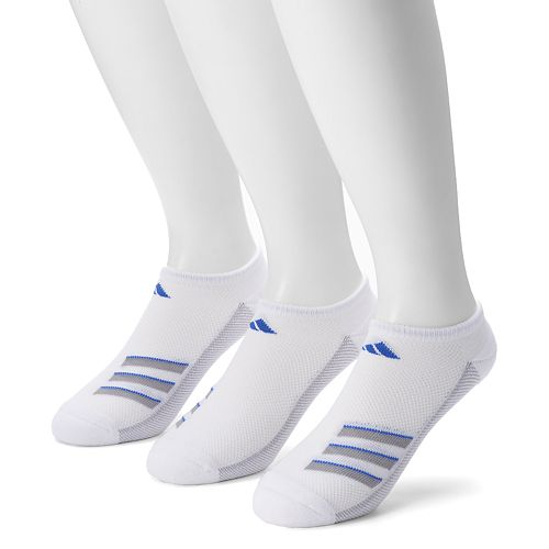 adidas 3-Pack Climacool Superlite Performance No-Show Socks - Men