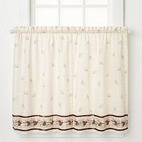 Saturday Knight, Ltd. Pinehaven Tier Kitchen Window Curtain Set