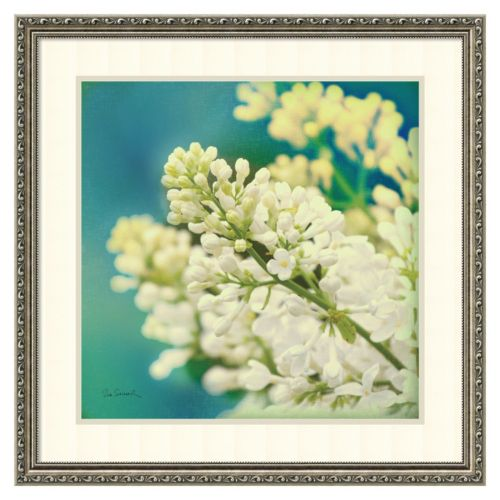 """Nature's Lilac Blossom"" Framed Wall Art"