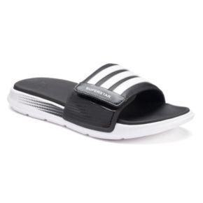 Adidas superstar 4g uomini scivolare i sandali.