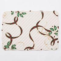 Lenox 4-pc. Holiday NouveauQuilted Reversible Placemat Set