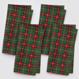 Lenox 4-pc. Holiday Nouveau Quilted Reversible Napkin Set