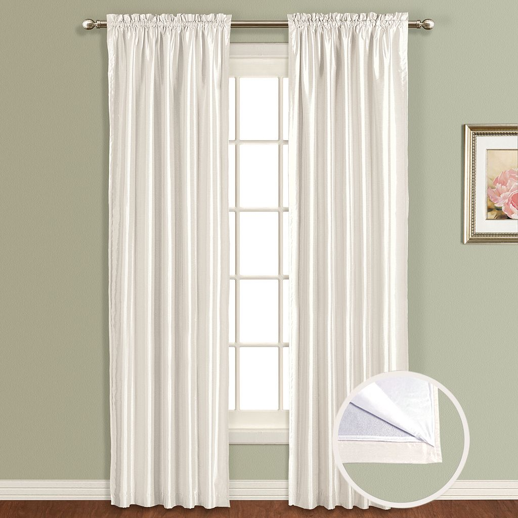 United Window Curtain Co. Lincoln Lined Window Curtain