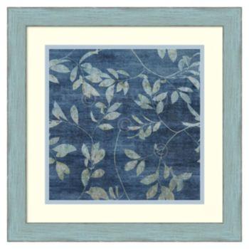 ''Denim Branches I'' Framed Wall Art