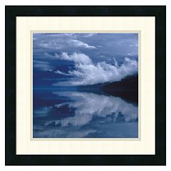 ''Glacial Mist'' Framed Wall Art