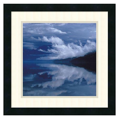 ''Glacial Mist'' Framed Wall Art