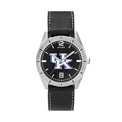 Men's Kentucky Wildcats Guard Leather Watch