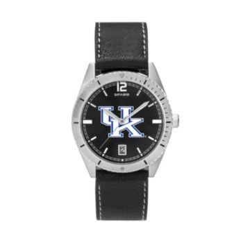 Men's Kentucky Wildcats Guard Leather Watch