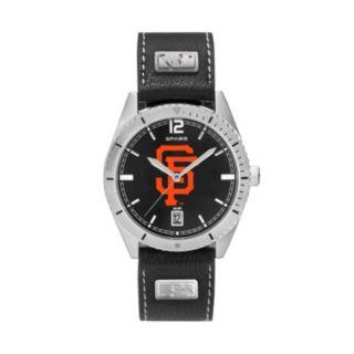 Men's San Francisco Giants Guard Leather Watch