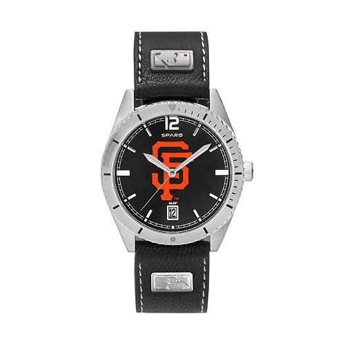 Men's San Francisco Giants Guard Leather Watch