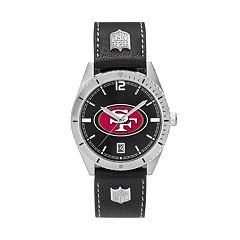 Men's San Francisco 49ers Guard Leather Watch