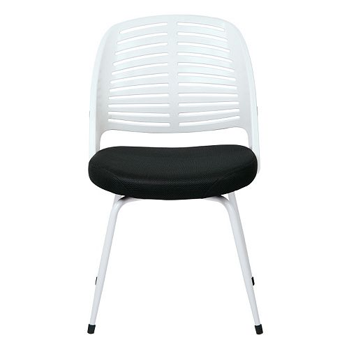 Ave Six White Frame Tyler Visitor Chair