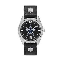 Men's Dallas Cowboys Guard Leather Watch