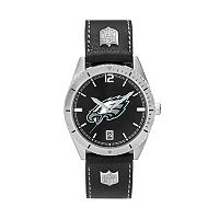 Men's Philadelphia Eagles Guard Leather Watch