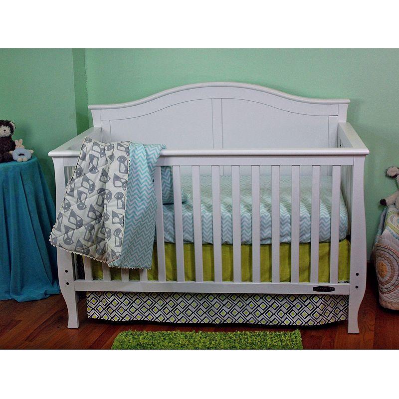 Lolli Living 3-pc. Penguin Crib Bedding Set, Grey
