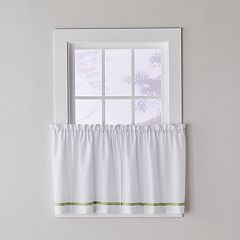 Saturday Knight Ltd. Kate Tier Kitchen Window Curtain Set