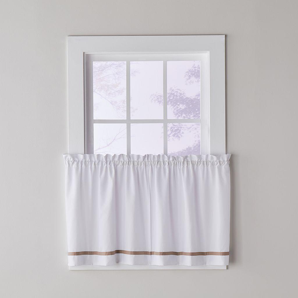 Saturday Knight Ltd. Kate Tier Kitchen Window Curtain Set