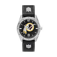 Men's Washington Redskins Guard Leather Watch