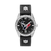 Men's Houston Texans Guard Leather Watch