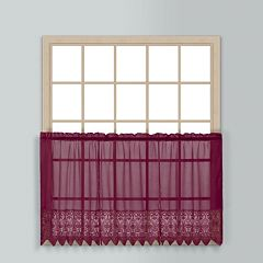 United Curtain Co. Valerie Tier Kitchen Window Curtain Set