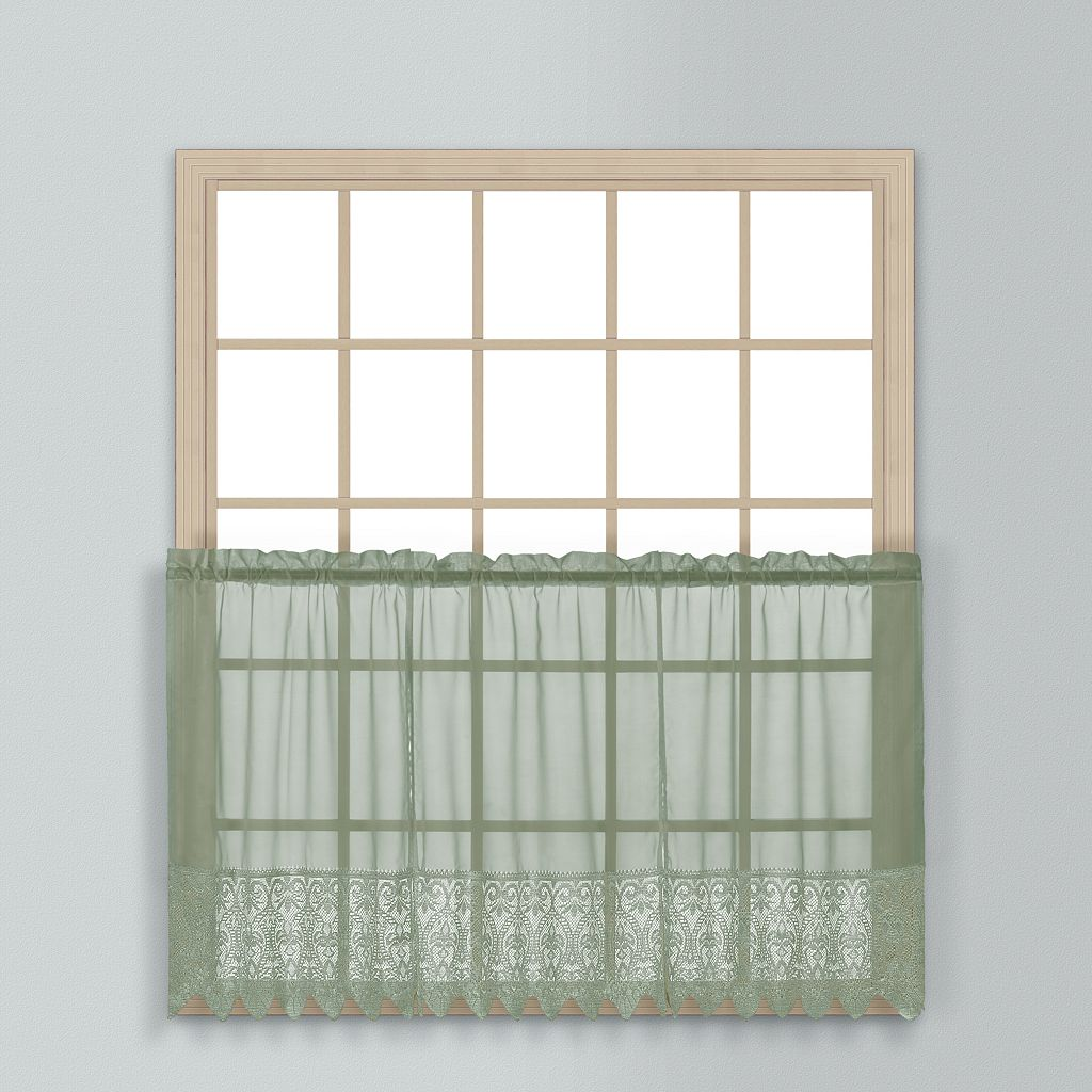 United Curtain Co. Valerie Tier Curtain Pair