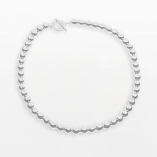 Chaps Metallic Shot-Bead Necklace