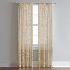 CHF 1-Panel Lyric Sheer Window Curtain