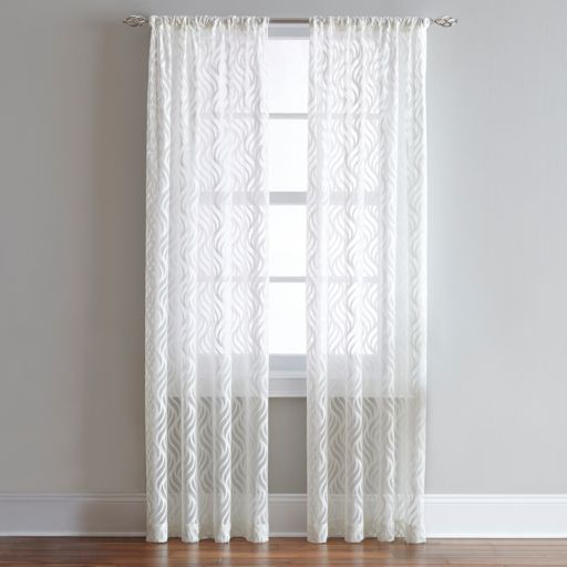 CHF Lyric Sheer Window Curtain