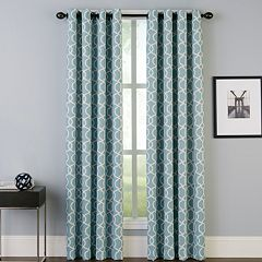 Peri 1-Panel Interlace Window Curtain