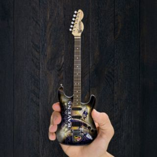 Baltimore Ravens NorthEnder Collector Series Mini Replica Electric Guitar