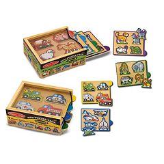 Melissa & Doug 8-pk. Mini-Puzzles