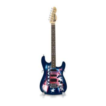 Houston Texans NorthEnder Collector Series Mini Replica Electric Guitar
