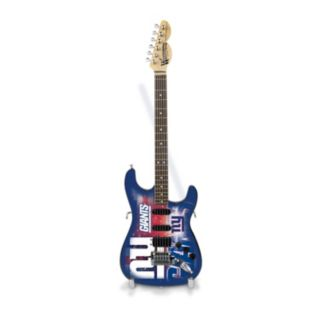 New York Giants NorthEnder Collector Series Mini Replica Electric Guitar