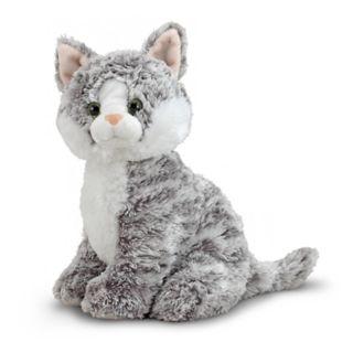 Melissa & Doug Greycie Tabby Kitten Plush Toy