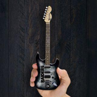 Oakland Raiders NorthEnder Collector Series Mini Replica Electric Guitar