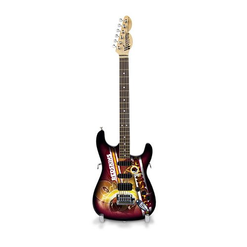 Washington Redskins NorthEnder Collector Series Mini Replica Electric Guitar