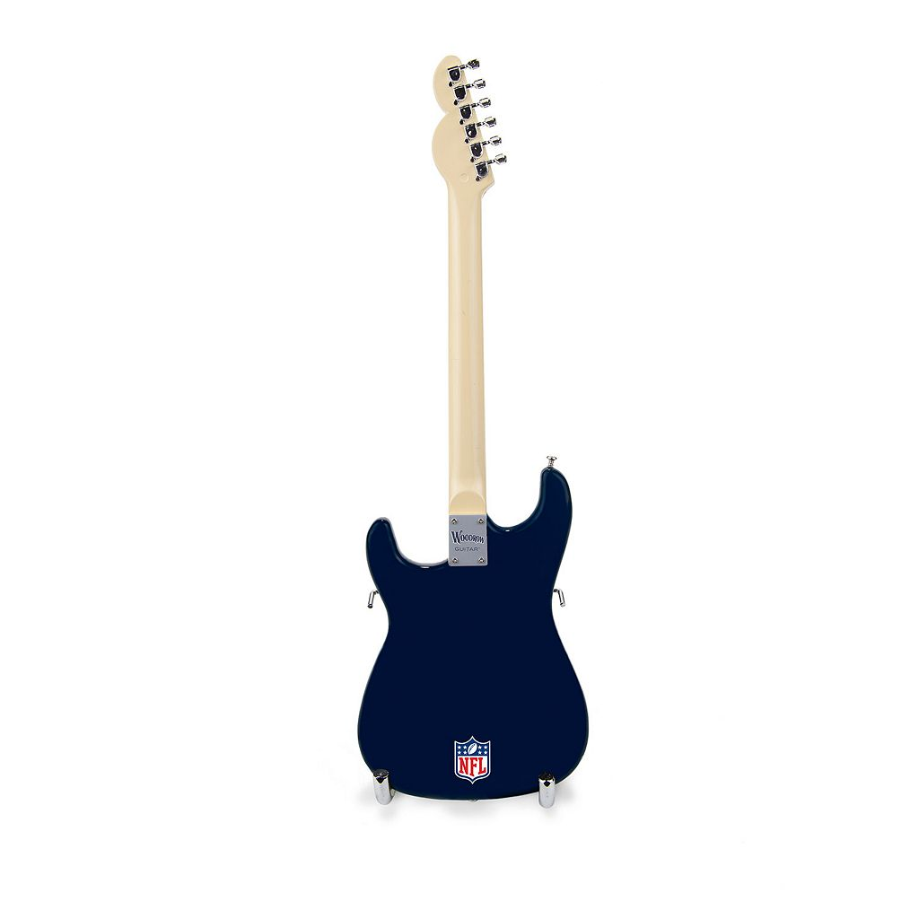 Chicago Bears NorthEnder Collector Series Mini Replica Electric Guitar