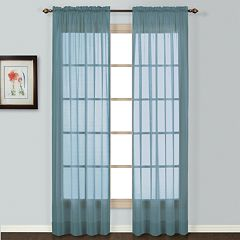 United Curtain Co. Batiste Window Panel