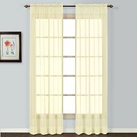 United Window Curtain Co. Batiste Window Panel