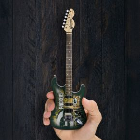 Green Bay Packers NorthEnder Collector Series Mini Replica Electric Guitar