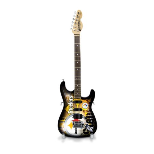 Pittsburgh Steelers NorthEnder Collector Series Mini Replica Electric Guitar