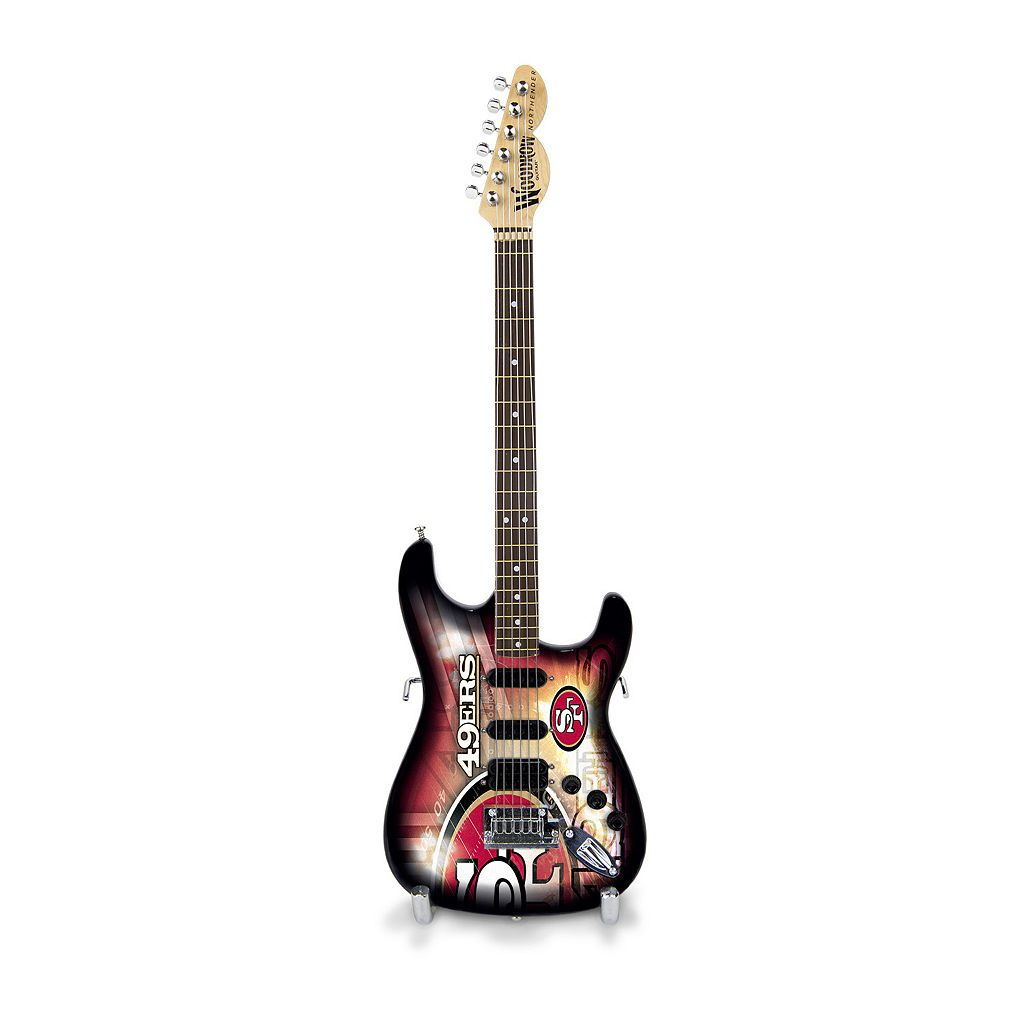 San Francisco 49ers NorthEnder Collector Series Mini Replica Electric Guitar