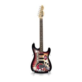San Francisco 49ers NorthEnder Collector Series Mini Replica Electric Guitar
