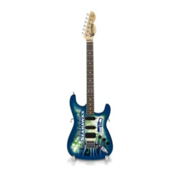 Seattle Seahawks NorthEnder Collector Series Mini Replica Electric Guitar