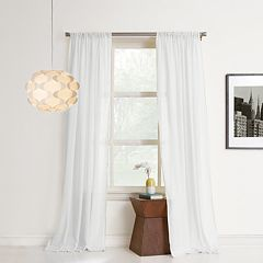 No 918 1-Panel Hendricks Cotton Window Curtain