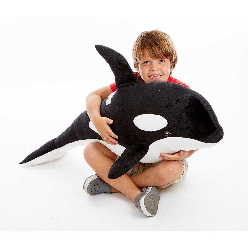 Melissa & Doug Orca Whale Plush Toy