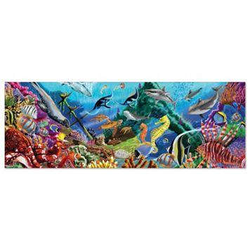 Melissa & Doug 200-pc. Deep Sea Family Floor Puzzle