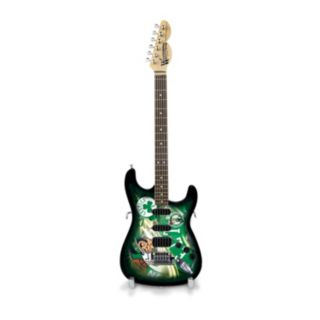 Boston Celtics NorthEnder Collector Series Mini Replica Electric Guitar