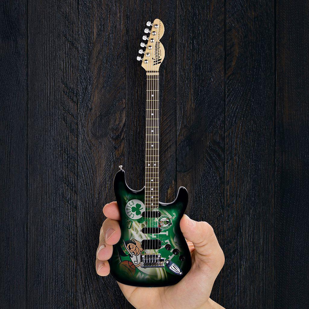 Boston Celtics NorthEnder Collector Series Mini Replica Electric Guitar